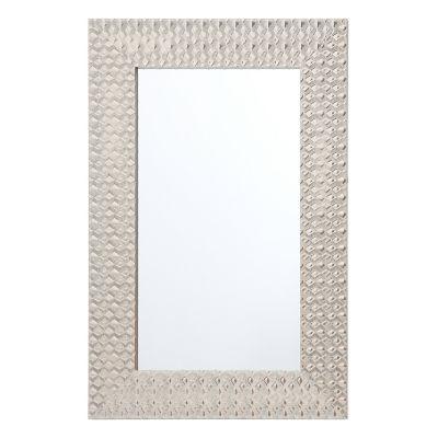 Espejo Diamond blanco 40 x 60 cm