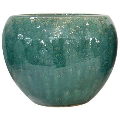 Maceta Kaula verde jade 30 x 23 cm