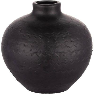Botella Kiri negro mate 18 x 18 cm