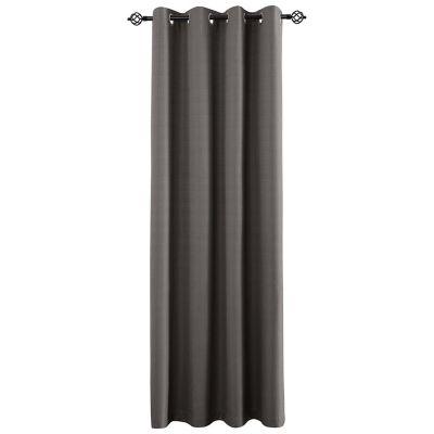 Cortina de tela Black Out Camil sun out 140 x 220 cm gris