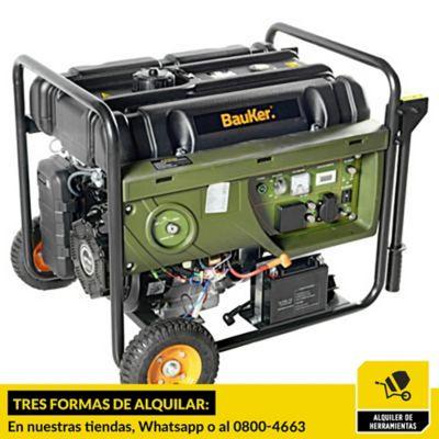 Alquiler de generador 8,0 hp gasolina
