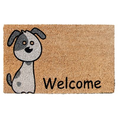 Felpudo Welcome Dog 45 x 75 cm
