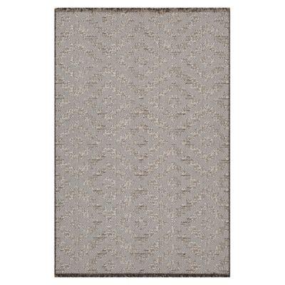 Alfombra Chiva forma 133 x 190 cm gris