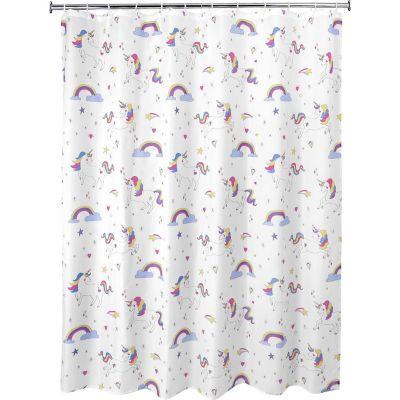Cortina de baño Unicornio 178 x 180 cm