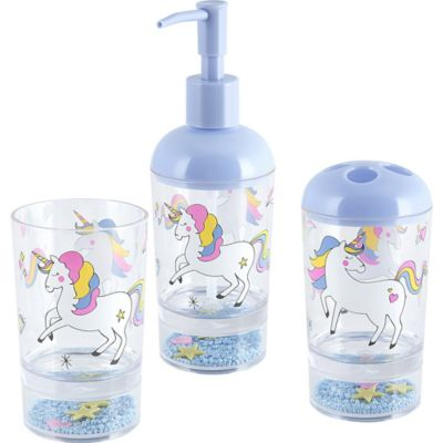 Dispensador de jabón Unicornio multicolor