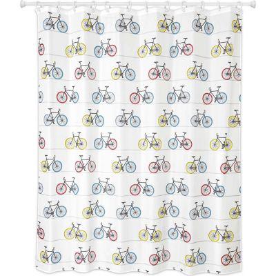 Cortina de baño Bicicletas 178 x 180 cm