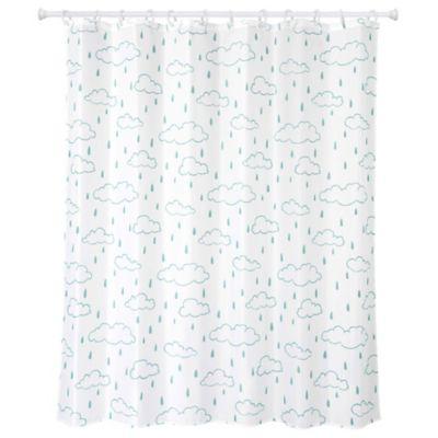 Cortina de baño Día de lluvia 178 x 180 cm