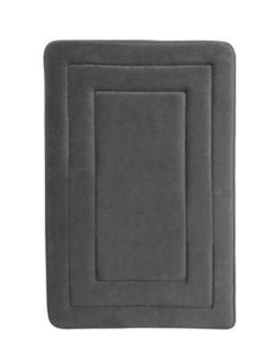 Pack de 2 alfombras de baño Race 40 x 60 cm gris