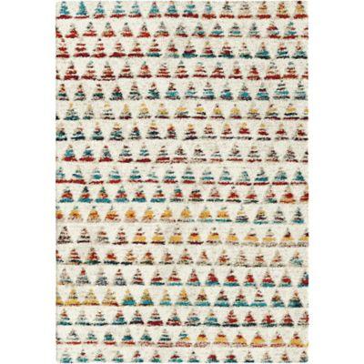 Alfombra Sherpa 120 x 170 cm multicolor