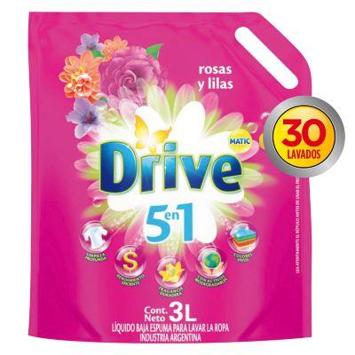 Jabón líquido para ropa rosas y lilas 3 L