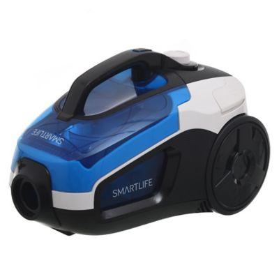 Aspiradora blanca y azul 2000 w