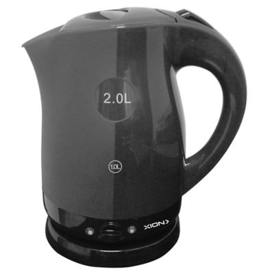 Jarra eléctrica 2200 w negra 2 L