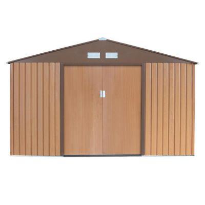 Caseta de metal C-A 191 x 340 x 210 cm