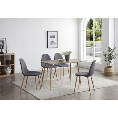Juego de comedor Dominga 1 mesa y 4 sillas