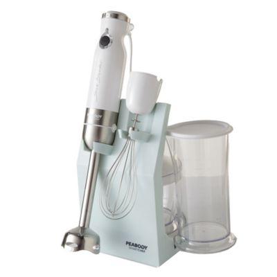 Mixer con accesorios 800 w blanco