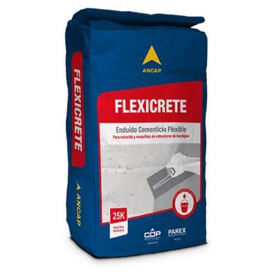 Enduido cementicio flexible Flexicrete 25 kg