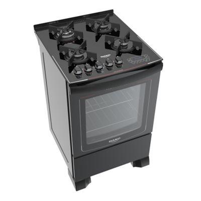 Cocina a gas Dako DA125 57 cm 4 hornallas negra