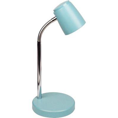 Lámpara de escritorio Camilove celeste 1 luz GU10