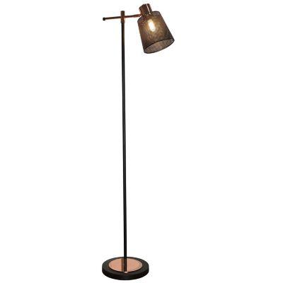 Lámpara de pie Horsen 1 luz E14 negra