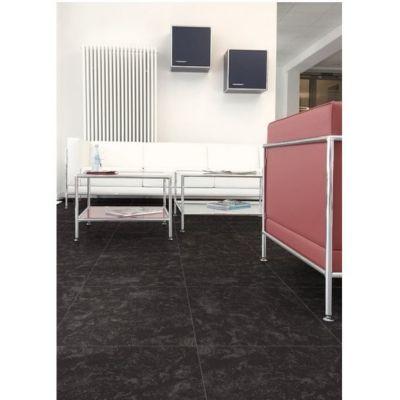 Cerámica 36 x 36 cm Azabache negro 2.68 m2
