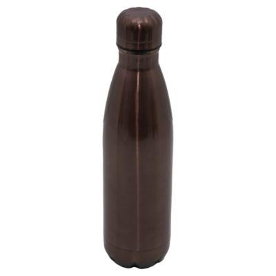 Termo botella de acero inoxidable 0.5 L titanium