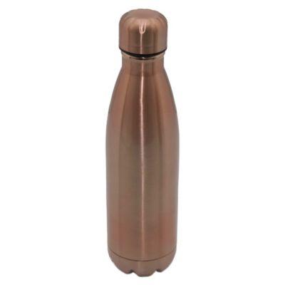 Termo botella de acero inoxidable 0.5 L cobre