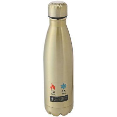 Termo botella de acero inoxidable 0.5 L dorado