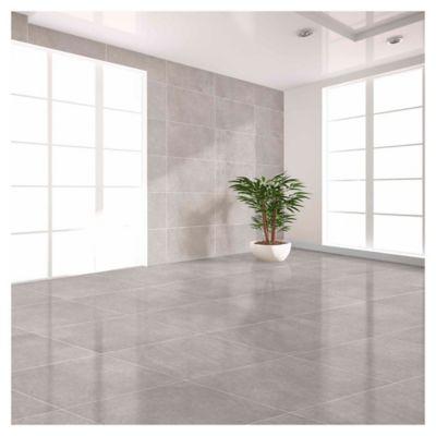 Porcelanato de interior 58 x 58 cm Lille cinza beige 1.68 m2