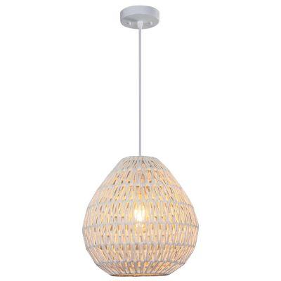 Lámpara colgante Tusinni 1 luz E27