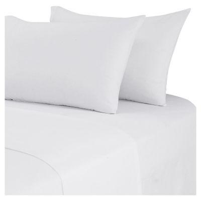Juego de sábanas 2 plazas blanca
