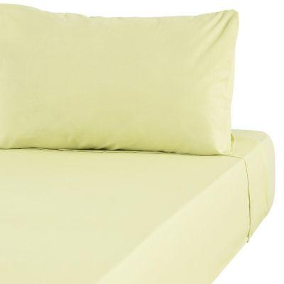Juego de sábanas  1.5 plazas verde