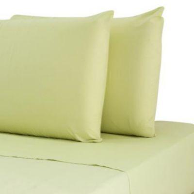 Juego de sábanas king verde