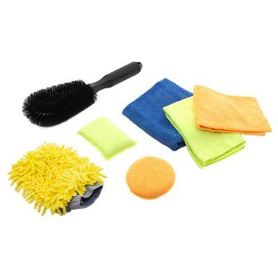 Kit de 7 elementos de limpieza para automóvil