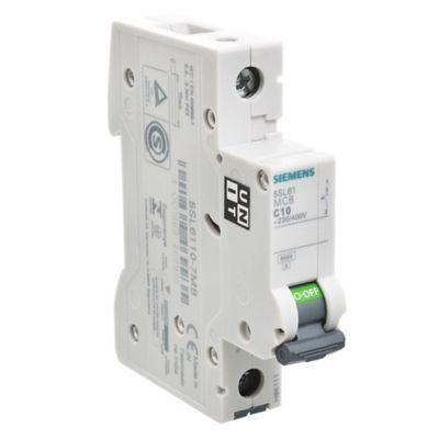 Interruptor termomagnético 1P 10A
