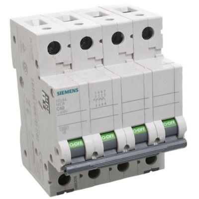 Interruptor termomagnético 4P 40A