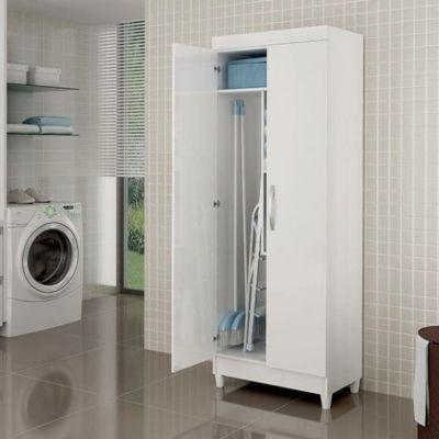 Armario multiuso Lavanda 2 puertas blanco