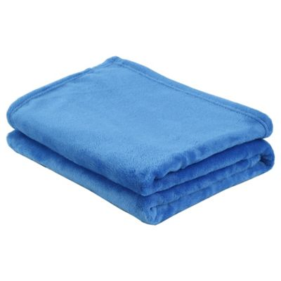 Manta Flanel azul 110 x 140 cm