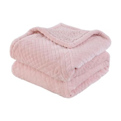 Manta Diseños rosa 125 x 150 cm