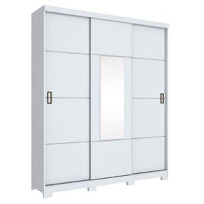 Placard Silver 3 puertas corredizas blanco