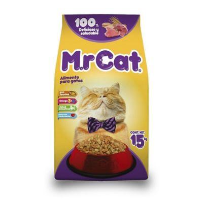Alimento para gato adulto 1,5 kg carne y cereales