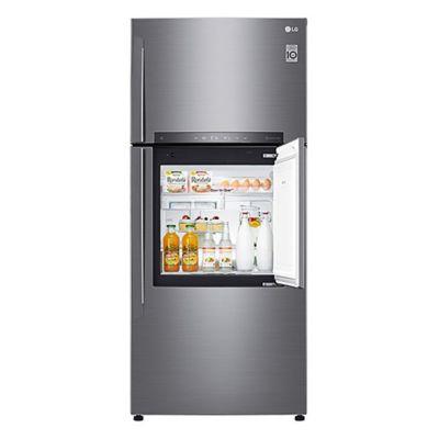 Refrigerador Alpha 438 L plateado