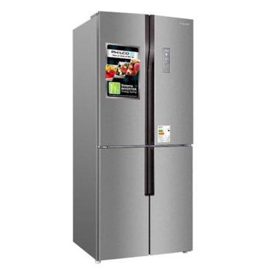 Refrigerador frío seco side by side 422 L inoxidable