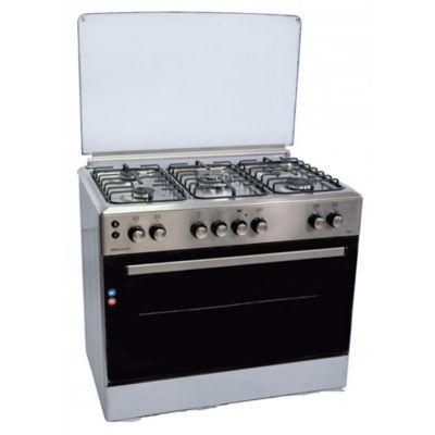 Cocina combinada CPH6514 5 hornallas inoxidable