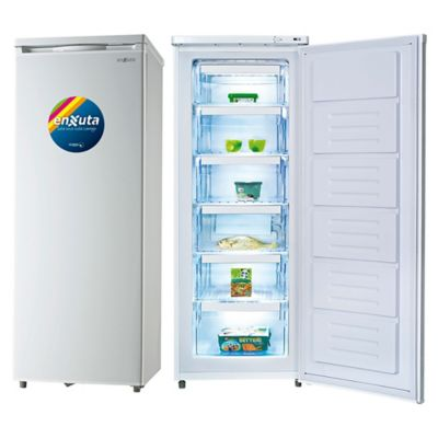 Freezer vertical 180 L blanco