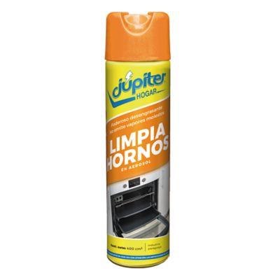 Limpiador para hornos desengrasante en aerosol 400 ml