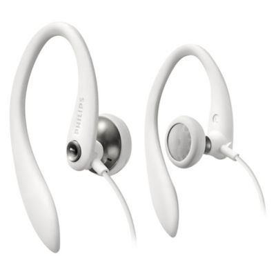 Auriculares action fit blanco