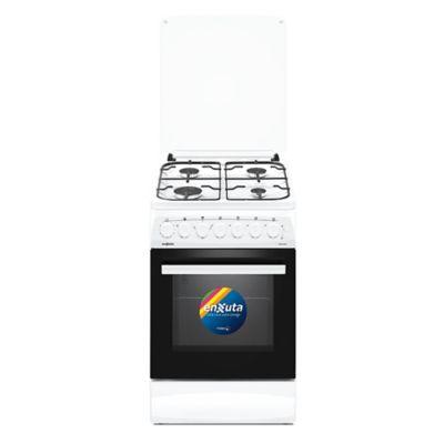 Cocina combinada CENX5544W 52 cm 4 hornallas blanca