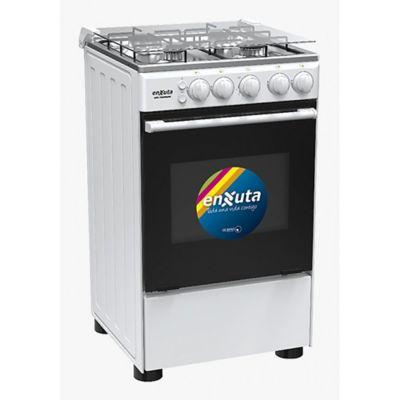 Cocina a gas CENX9504W 53,5 cm 4 hornallas blanca