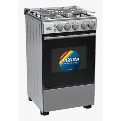 Cocina a gas CENX9504I 53,5 cm 4 hornallas inoxidable
