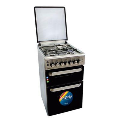 Cocina combinada CENX650I 53,7 cm 3 hornallas inoxidable